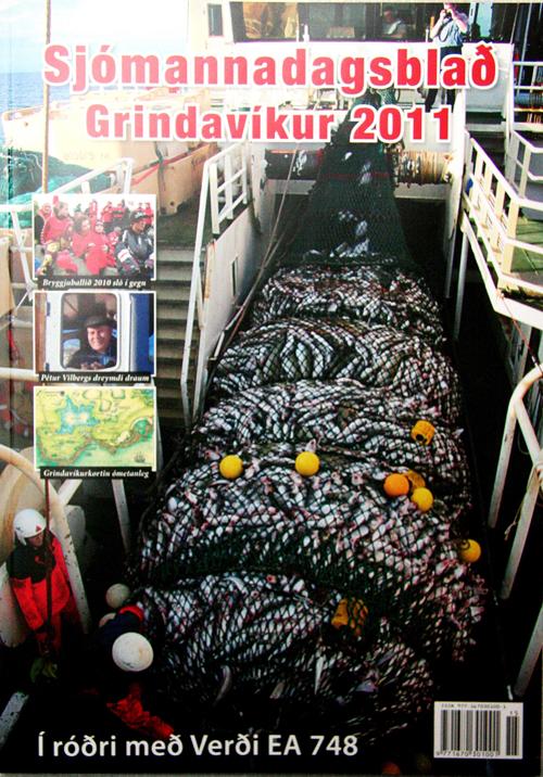 Sjómannadagsblað Grindavíkur 2011 er komið út